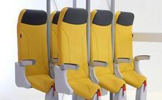 Viajes en avión de pie: llegan los asientos verticales