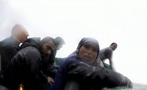 Supervivientes: las impactantes imágenes de la evacuación