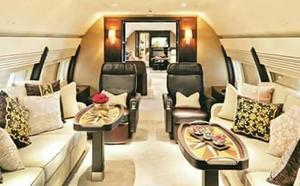 Así es el lujoso avión del amigo de Peter Lim, el sultán de Johor