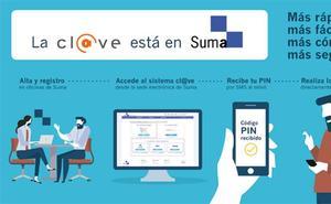 Suma integra el sistema Cl@ve y se convierte en oficina de registro presencial