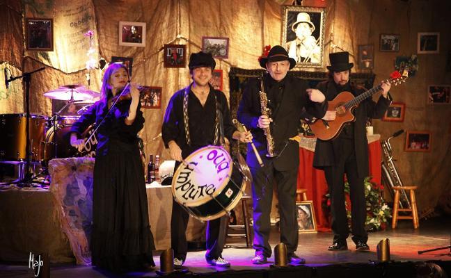 Música y teatro en el Flumen con la obra 'El funeral. Oua Umplute'