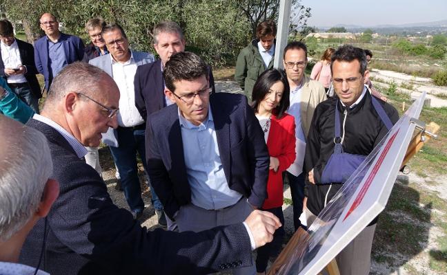 Ontinyent contará en septiembre con un nuevo acceso a través de la avenida Torrefiel