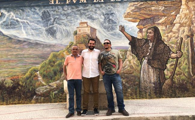 Xàtiva impulsa un mural sobre la leyenda de la ermita del Puig