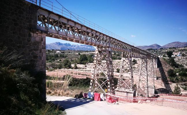 El Consell frena la sustitución del puente del Quisi de Benissa