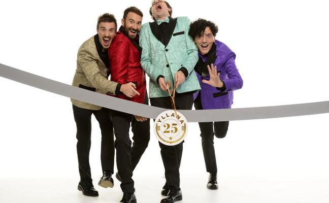 Yllana celebra en Rambleta 25 años de humor «irreverente»