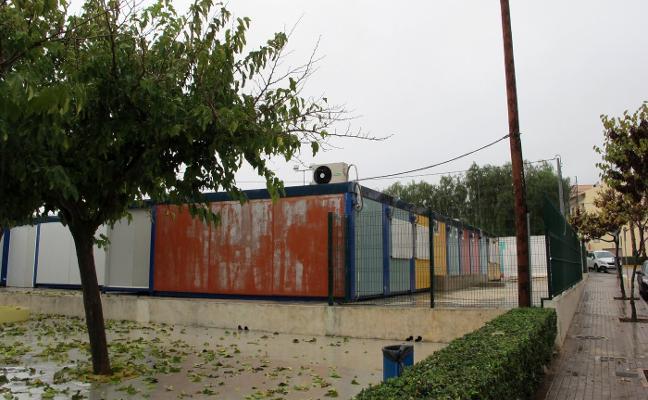 Educación desbloquea las obras de 31 centros pero sólo uno está en barracones