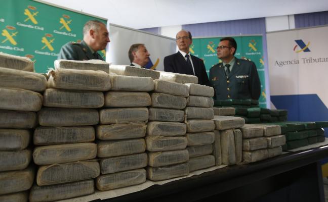Confiscan 325 kilos de cocaína en el Puerto de Valencia