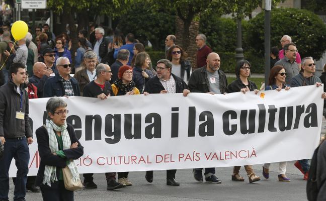 Compromís y EU secundan la manifestación catalanista
