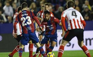El Levante UD pierde a Cabaco e Ivi para viajar a San Mamés