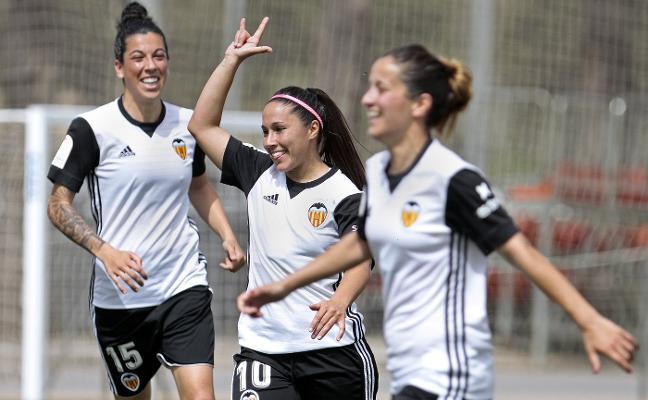 El Valencia abre hueco y pone un pie en la Copa