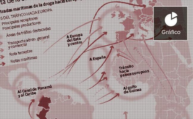 Valencia, puerta de entrada de la cocaína a Europa