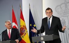 Rajoy niega que se negocie con el PNV la gestión de la Seguridad Social