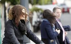 Las fuertes rachas de viento obligan a suspender las clases en dos colegios