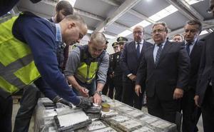 Intervienen en Algeciras el mayor alijo de coca de Europa