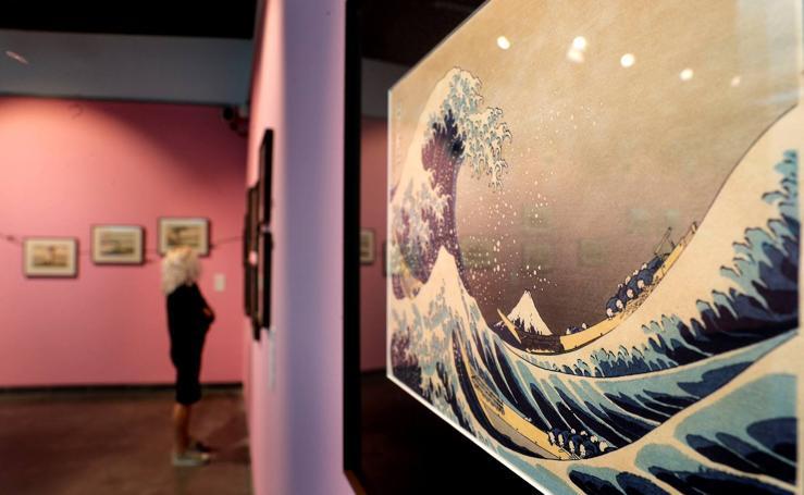 Exposición de arte japonés en el MuVIM
