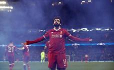 Salah se invita a comer a la misma mesa que Cristiano y Messi