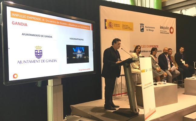Gandia muestra ante 60 municipios la capacidad de innovación de sus empresas