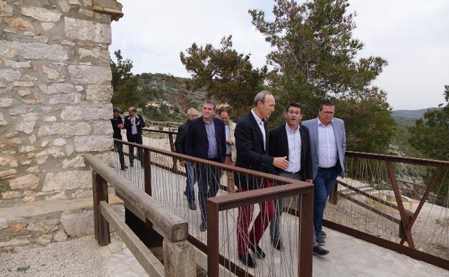 La Diputación mejora las señales y la seguridad en la ermita de Sant Esteve de Ontinyent