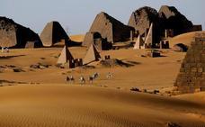 Viaje al país de las pirámides sin turistas
