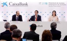 Caixabank descarta la adquisición de Bankia y reitera estar «muy a gusto» con la sede en Valencia