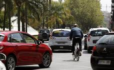 Fernando el Católico perderá espacio para coches con el nuevo carril ciclista