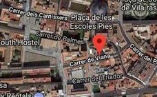 Cuatro heridos en un incendio en Valencia