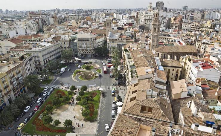 El debate de la peatonalización en Valencia