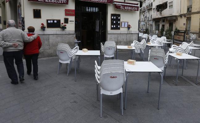 El Consistorio reducirá también las terrazas en Ruzafa tras las protestas