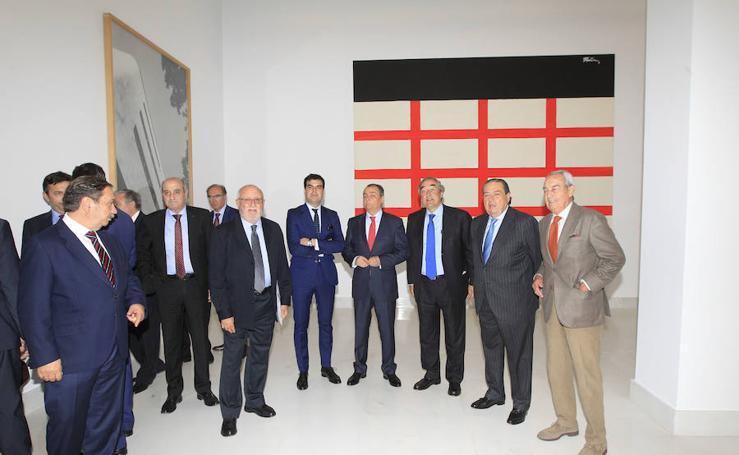 Fotos de la Asamblea de la CEV, en el salón de actos de la Fundación Bancaixa