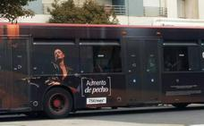 La EMT ordena retirar una campaña de publicidad de aumento de pecho