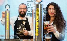 Dos valencianos aspiran a convertirse en los campeones nacionales de tiraje de cerveza