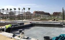 Comienza la sustitución de 6.000 m2 de pavimento defectuoso en el Parque Central