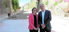 Manuel estrena el primer tramo de Vía Verde con ayuda de la Diputació