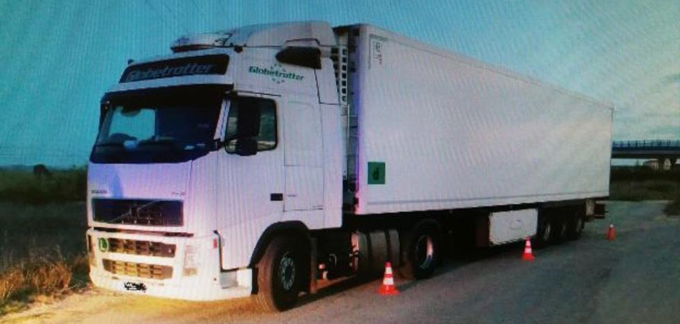 Detenido un camionero por cuadruplicar la tasa de alcohol en Picassent