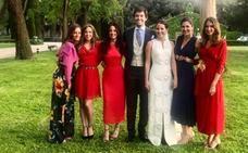 Se casa la hija de Ignacio González