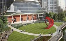 Una escultura de Santiago Calatrava será levantada frente al río Chicago
