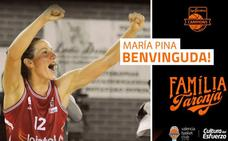 El Valencia Basket ficha a María Pina