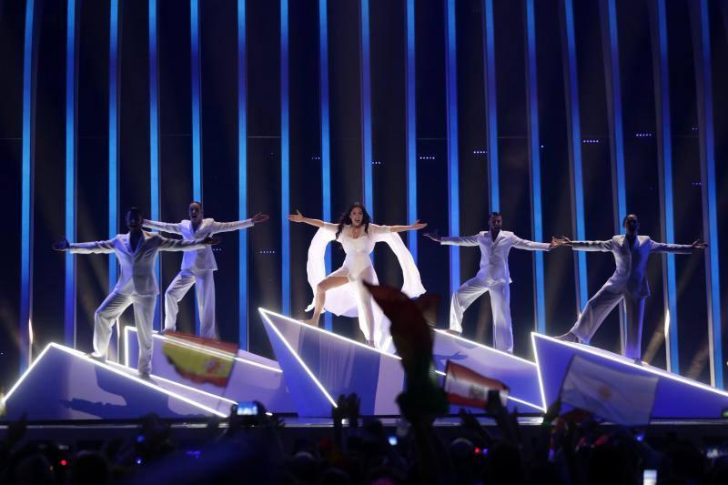 Fotos de la primera semifinal de Eurovisión 2018