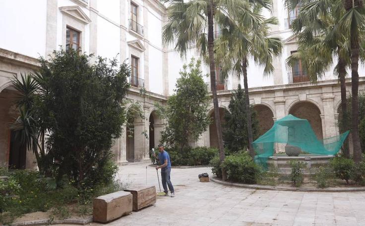 Rehabilitación del Palacio del Temple de Valencia