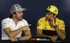 Alonso y Sainz juegan en casa
