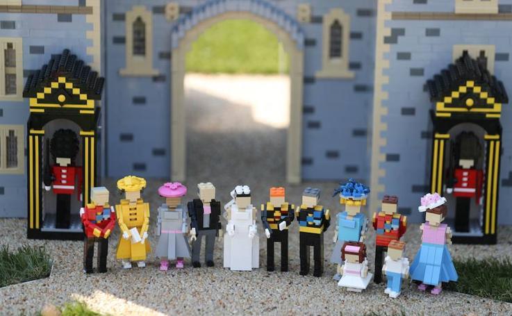 La boda del príncipe Harry y Meghan Markle, con 60 mil piezas Lego