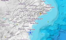 Alicante y Elche notan un terremoto de magnitud 3,4 en Pilar de la Horadada