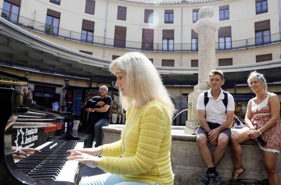 'Pianos en la calle' en Valencia