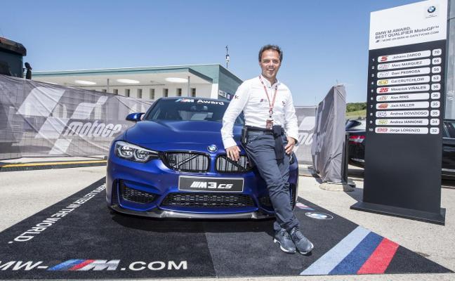 El BMW M3 CS, premio para las poles de MotoGP