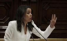Arrimadas carga contra Torra por sus comentarios contra los españoles
