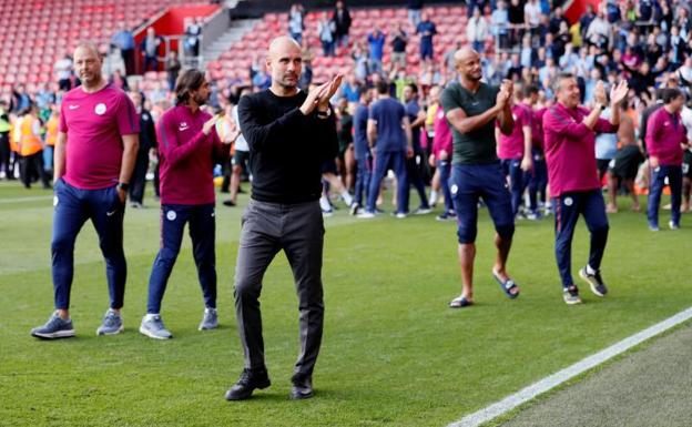 Guardiola tras el partido /Reuters