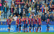 Las mejores imágenes del Levante-Fútbol Club Barcelona