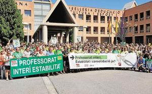 La Generalitat fija los servicios mínimos para la huelga de profesores del 16 de mayo