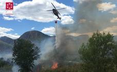 Controlado el incendio forestal de Fanzara