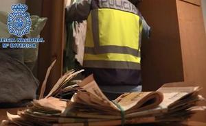 La policía interviene un bolígrafo pistola a un traficante